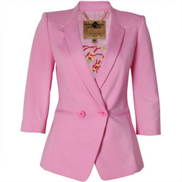Ted Baker Cotton Candy Pink Blazer