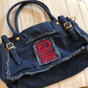 6abfd33388e5 Ed Hardy Bags - Ed Hardy7829 Melrose Blue Purse