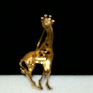ae8ecfa19 Swarovski Jewelry - Signed Swarovski Giraffe Pin Brooch-Retired