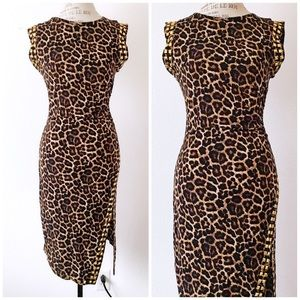 • FINAL PRICE • Michael Kors Leopard Dress