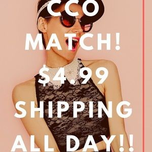 Reduced Shipping All Day!
