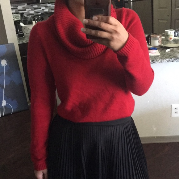 68% off GAP Sweaters - GAP Red cowl neck sweater 🎁 from Mar's ...