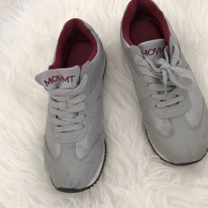 MOVMT gray red shoes