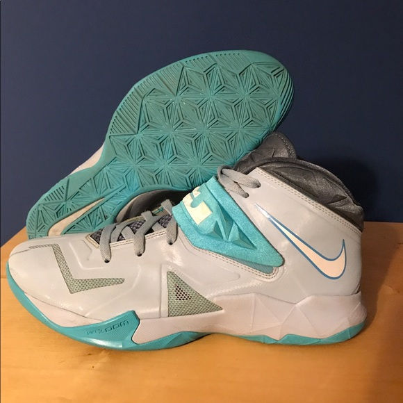 super popular 765a4 cb8a7 Nike Zoom Lebron Soldier 7 Armory Blue