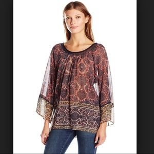 Plenty by Tracy Reese Peasant Blouse M