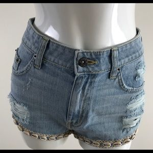 NWT Women's Carmar LF Jean Shorts With Shells