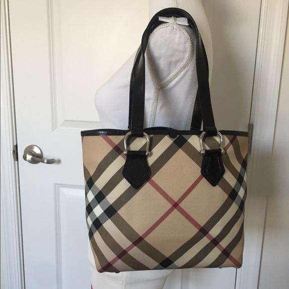 c437d7ae88e Burberry Bags   Guc Supernova Check Classic Tote Handbag   Poshmark
