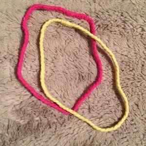 American Apparel Headband Bundle of 2