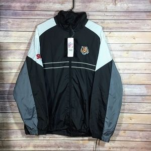 Dunbrooke NFL Cinti Bengals Windbreaker Jacket XL