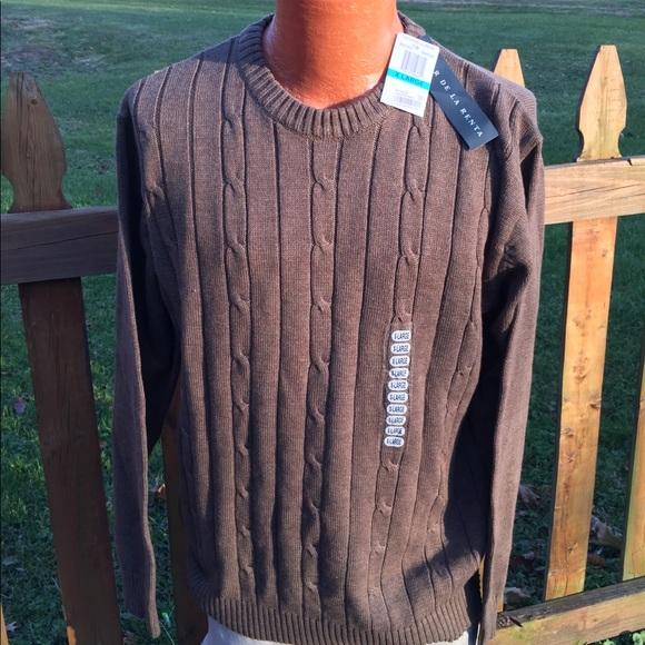 Oscar De La Renta Sweaters Oscar De Le Renta Mens Sweater Size Xl