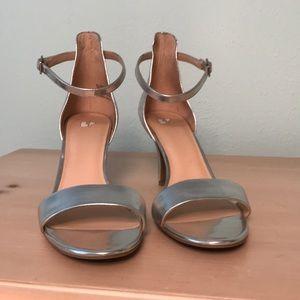Silver BP Heels
