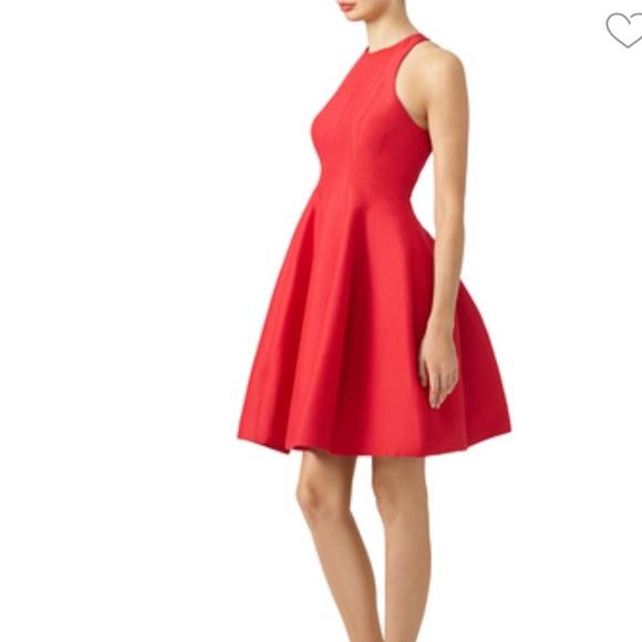 f233b962caa Halston Heritage Dresses   Skirts - Halston Heritage Red Carmine Dress -  Holidays