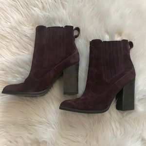 c2ca552ed21b Dolce Vita Shoes - Dolce Vita Conway Suede Mulberry Booties