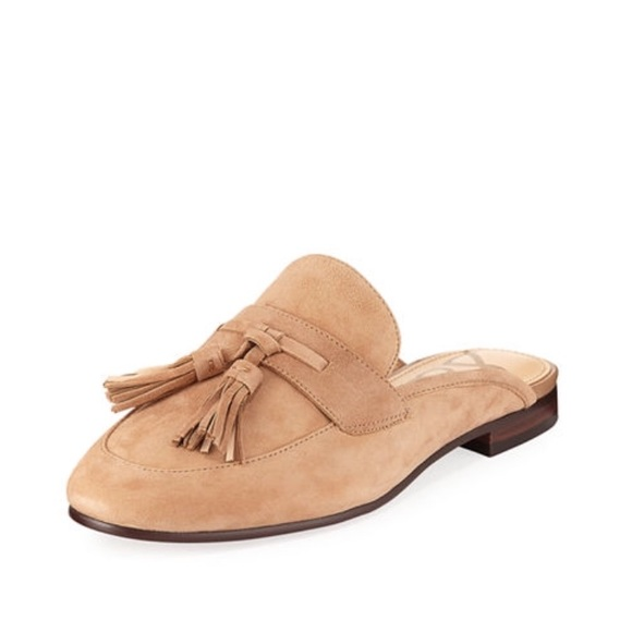 4cf7963ecec9 Sam Edelman Paris tassel mule loafer camel NWT