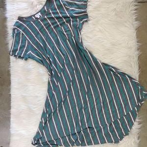 LuLaRoe Striped Carly Dress