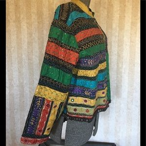 Chico's Jackets & Coats - Chico's patchwork jacket.