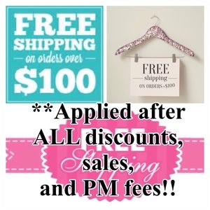 🌸FREE SHIPPING🌸 On Orders Over $100 💵