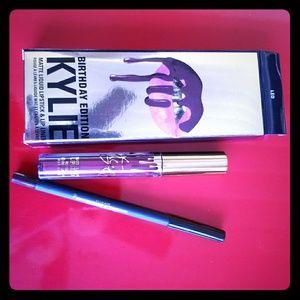 Other - Kylie Jenner LEO birthday edition lip kit