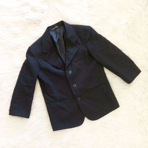 Boys Black Suit Jacket
