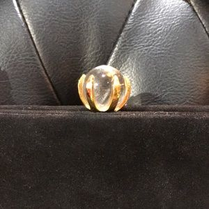 Vintage black suede purse