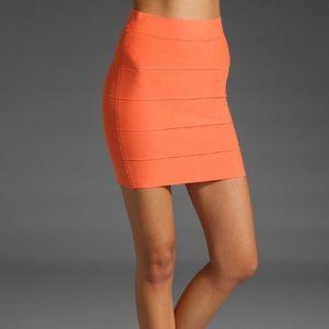•• BCBG Maxazria • Bodycon Bondage Power Skirt