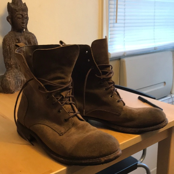 Frye Shoes | Frye Mens Will Suede Boots