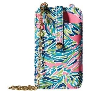 Lilly Pulitzer call or ID crossbody phone case!!