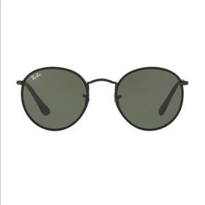 Round Ray Ban Sun Glasses