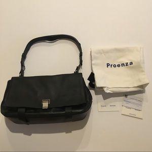 Proenza Schouler Courier Black Leather Purse