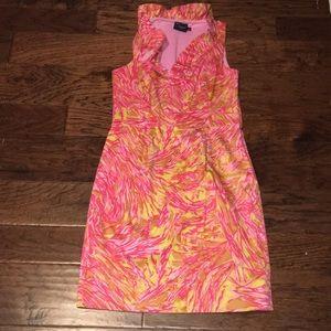 Taylor Sleeveless Print Dress