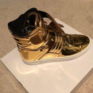 radii Shoes - Radii Cylinder 24k Gold Sneaker