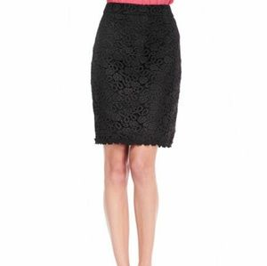 Kate Spade New York lace pencil skirt