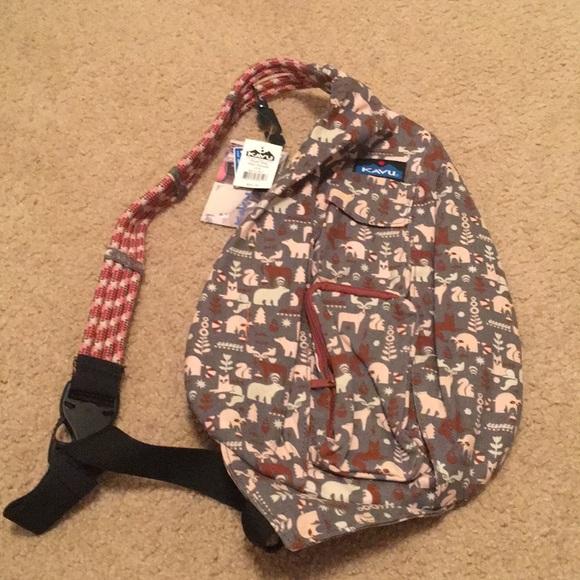 Kavu Rope Bag (Wild Woods) Backpack Bags YwJPo