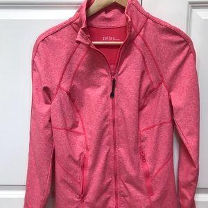 ZELLA pink zip up