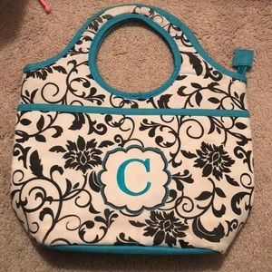 "Handbags - Lunch box with a ""c"""