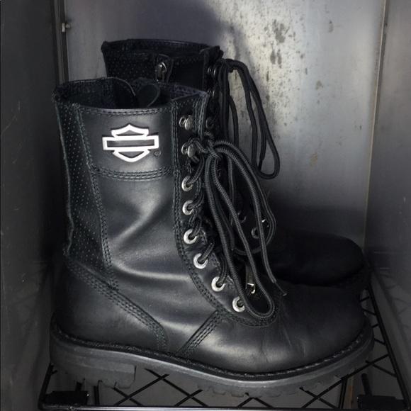 552f099d08ee Harley-Davidson Shoes - Harley-Davidson® Womens Matisa Black Mid Cut Boot.