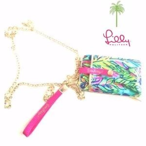 Lilly Pulitzer CALL OR ID CROSSBODY PHONE CASE