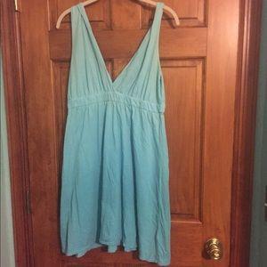 Gypsy 05 blue ombré organic cotton dress