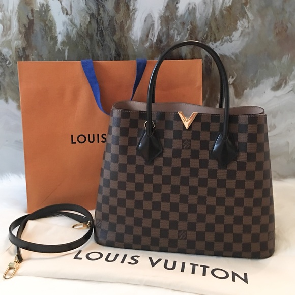 Louis Vuitton Handbags - Louis Vuitton Damier Ebene Kensington Tote Bag 512b259c98