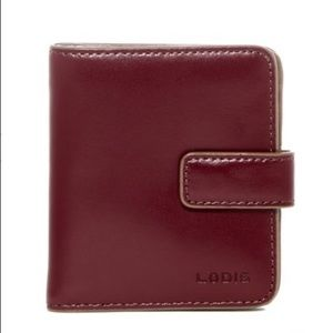 Lodis Audrey petite leather card case wallet