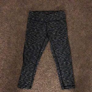 Zella striped Capri yoga pants