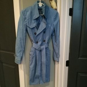 Kenneth Cole trench coat S , blue