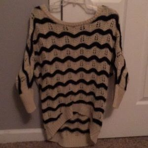 Charlotte Russe chevron sweater
