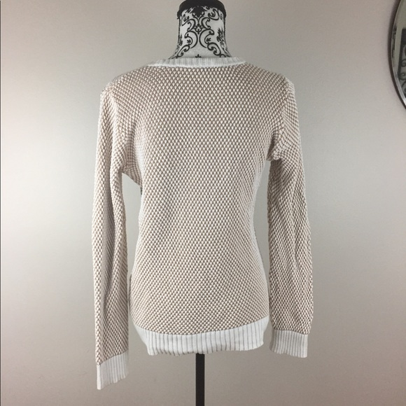 French Connection Sweaters - Tan & cream heavy sweater