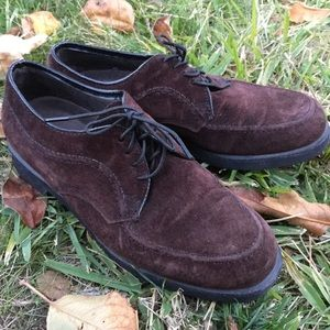Hush Puppies Size 7 Brown Suede Shoes Loafers