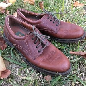 Timberland Brown Leather Loafers Shoes Size 6 1/2