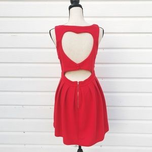 Dresses & Skirts - FIt and Flare Heart Dress