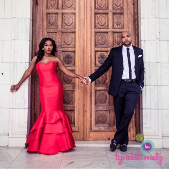 Blush Dresses | Valentine Red Gown | Poshmark