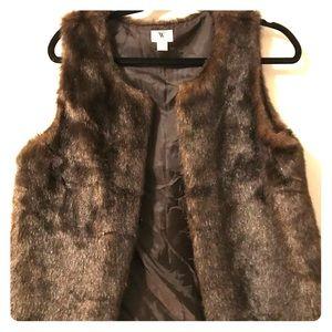 Fury brown beautiful vest