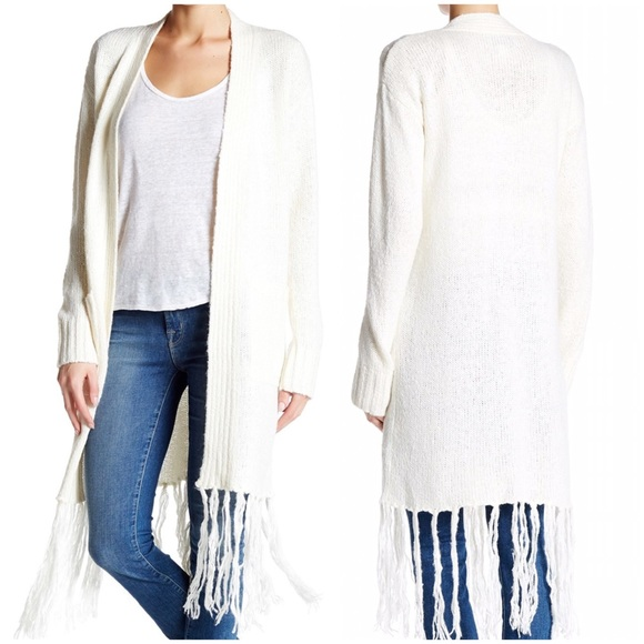 58% off Anthropologie Sweaters - Anthropologie Marrakech Fringe ...